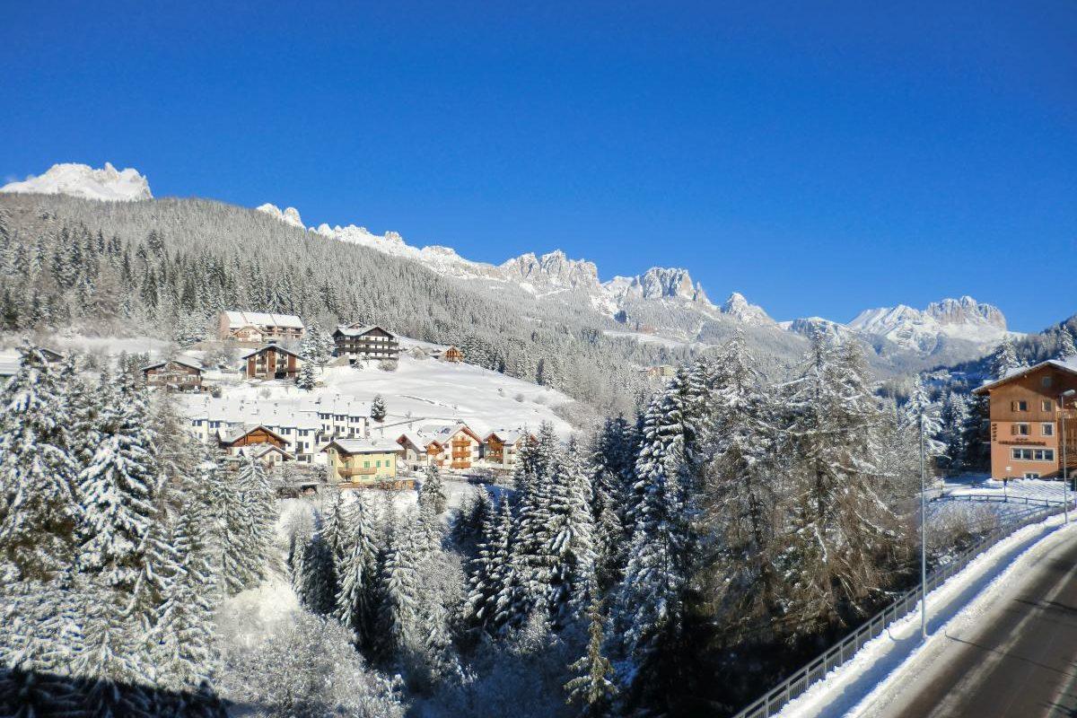 Panorama invernale Moena