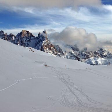 Sciare in Val di Fassa